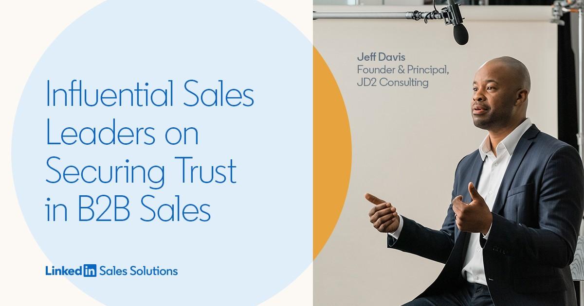 B2B Sales Influencers Speak on the State of Sales