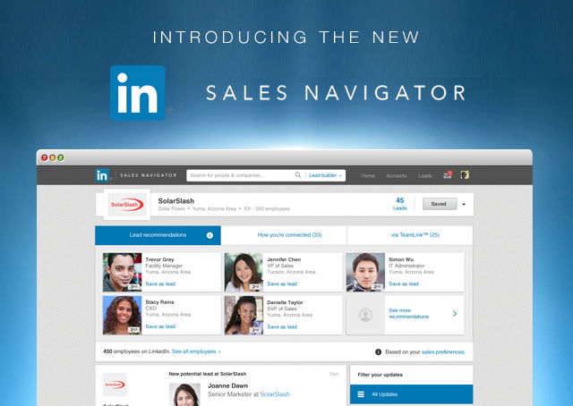 Empowering Social Sellers with LinkedIn's New Sales Navigator