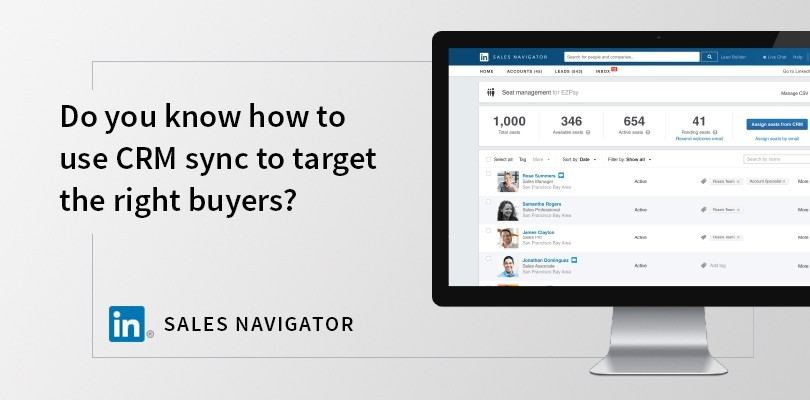 LinkedIn CRM Sync Gives You Sales Enablement Superpowers: Here's How