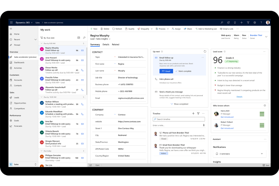 Sales Navigator screenshot