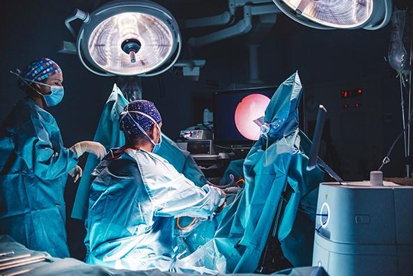 cirugía láser de ablación de próstata