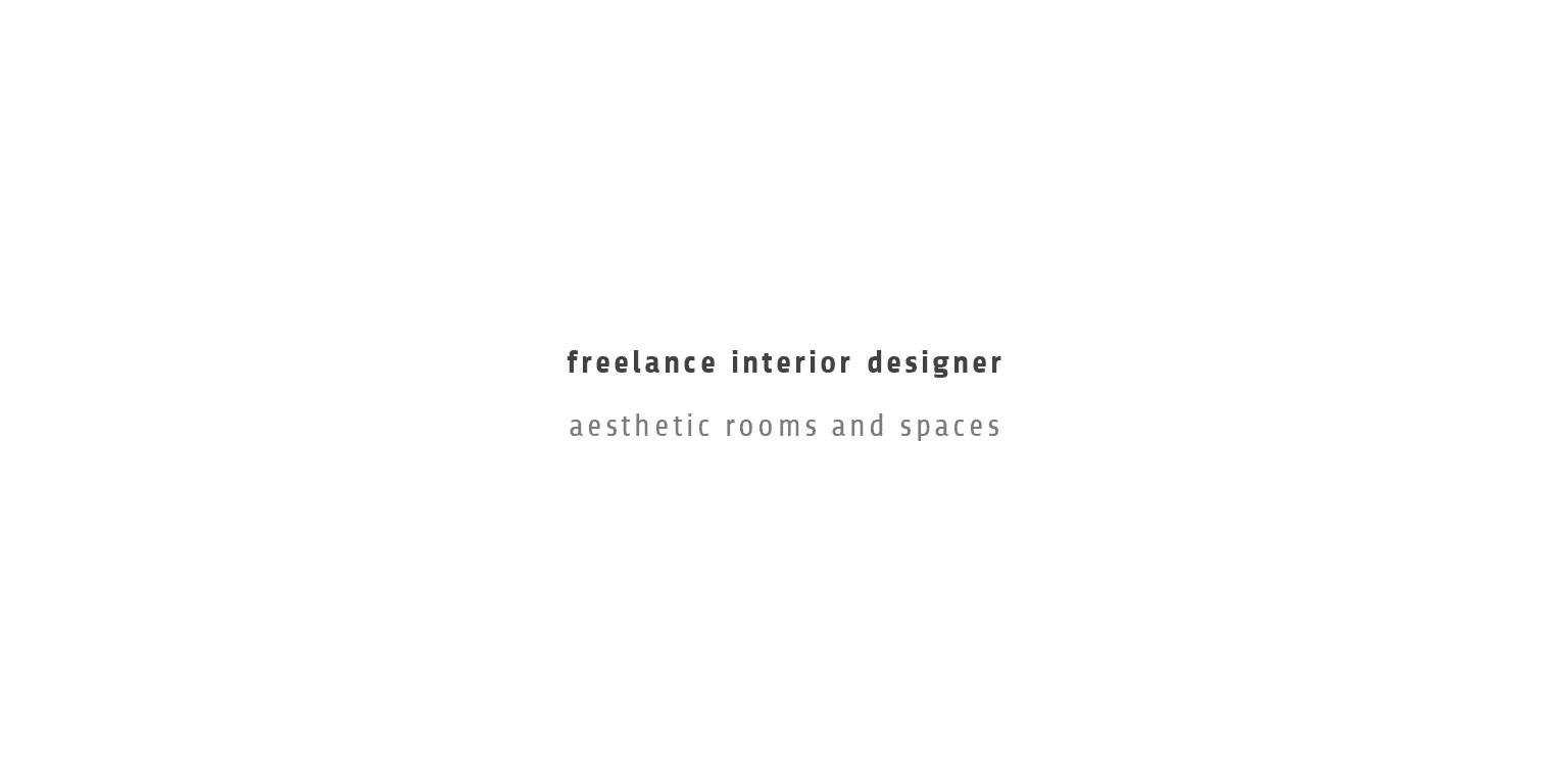 Freelance Interior Designer Linkedin