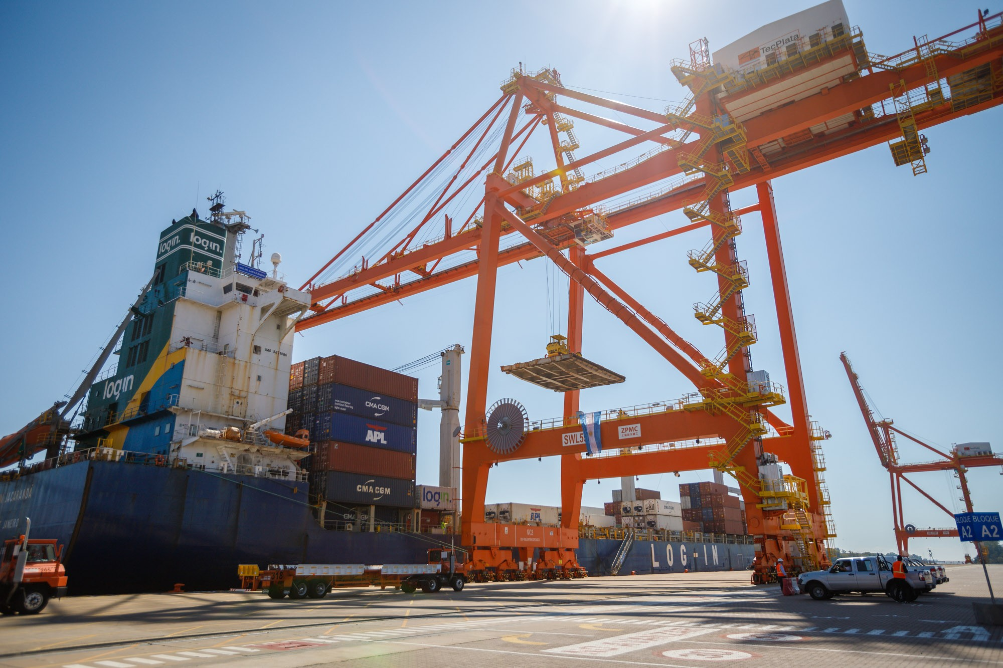 Puerto La Plata: controles ante llegada de buques del exterior