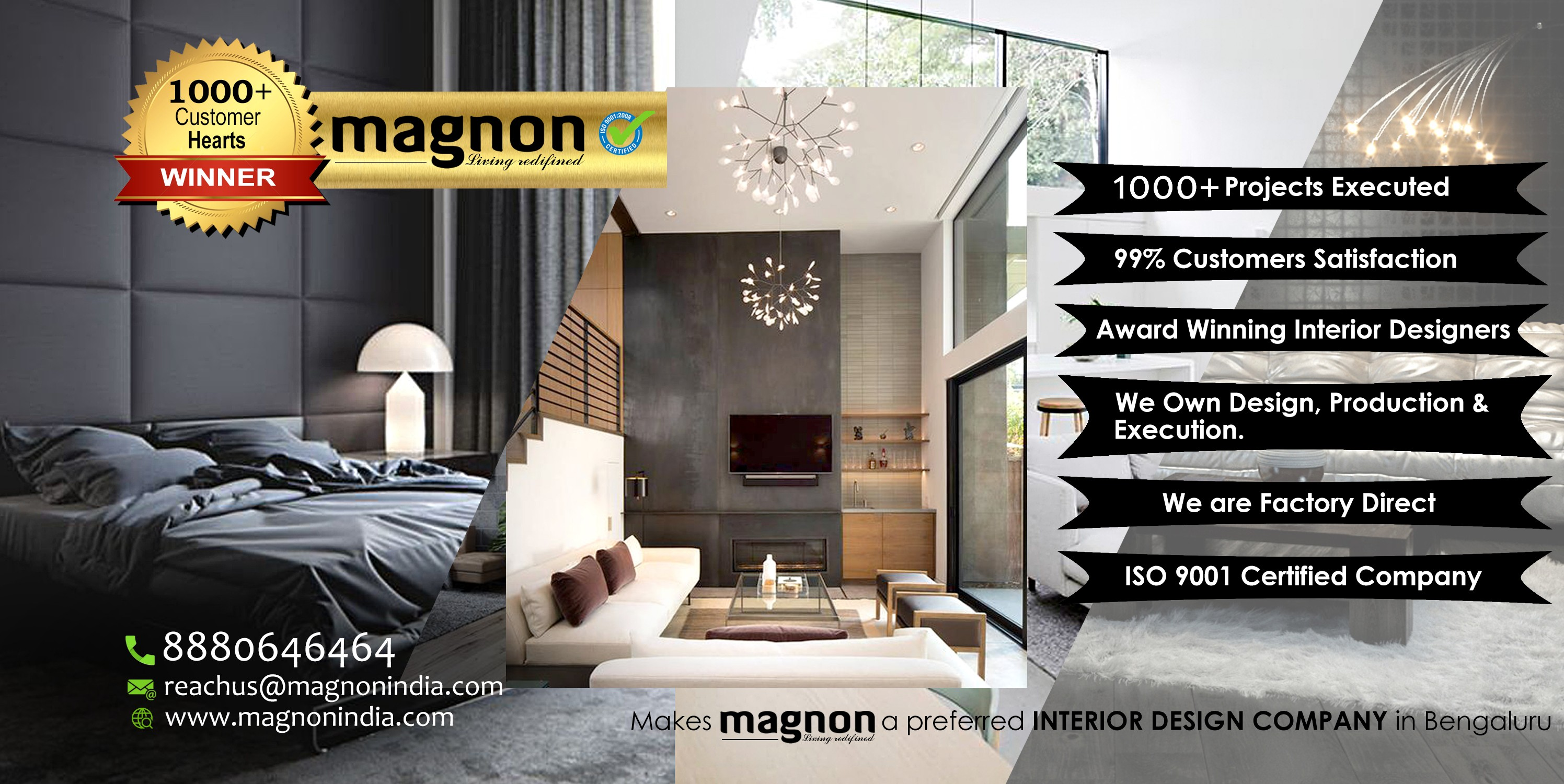 Magnon Interiors Design Manufacturing Bangalore Linkedin