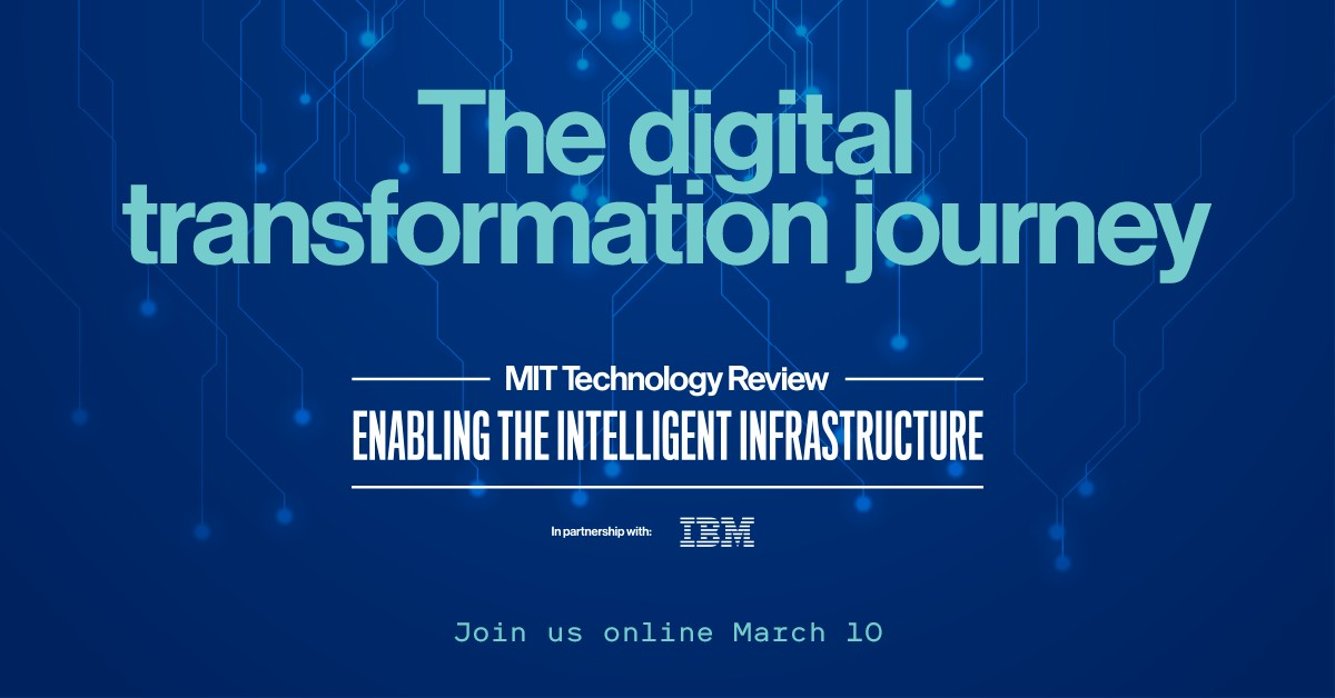 MIT Technology Review: Enabling the Intelligent Infrastructure