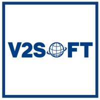 V2Soft logo