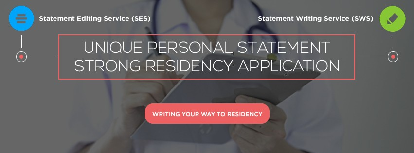 Personal statement writing service for residency