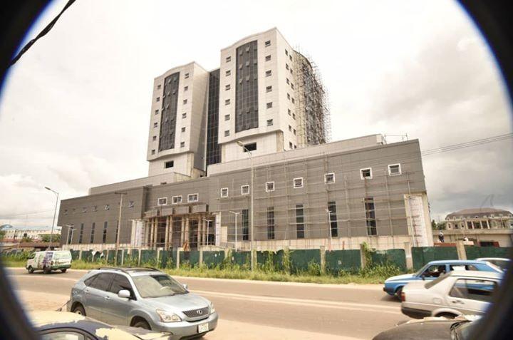 President Muhammadu Buhari Commissions New NDDC Headquarters