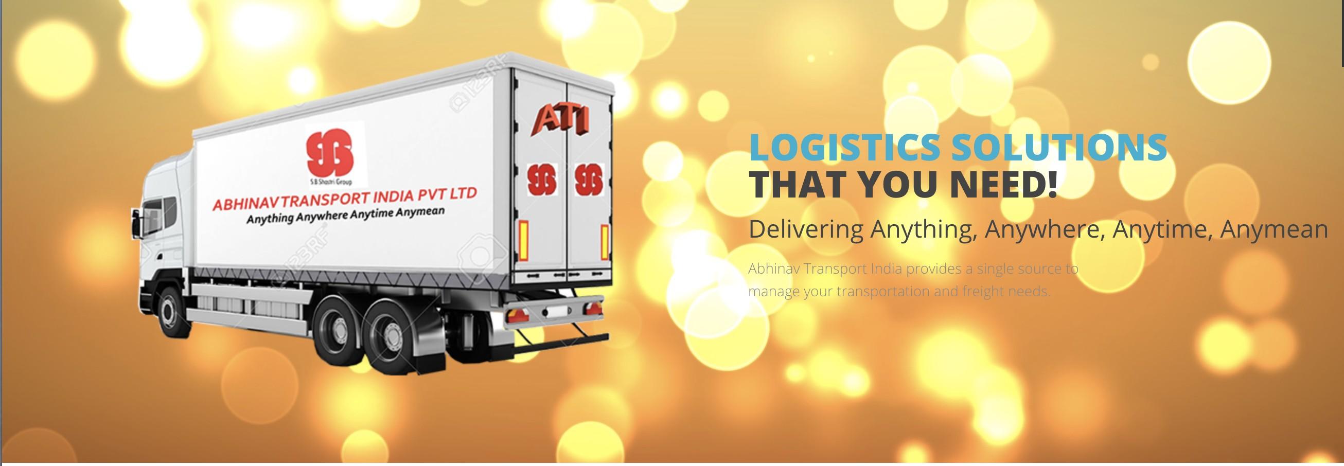 Ags Logistics Pvt Ltd abhinav transport (india) pvt ltd | linkedin
