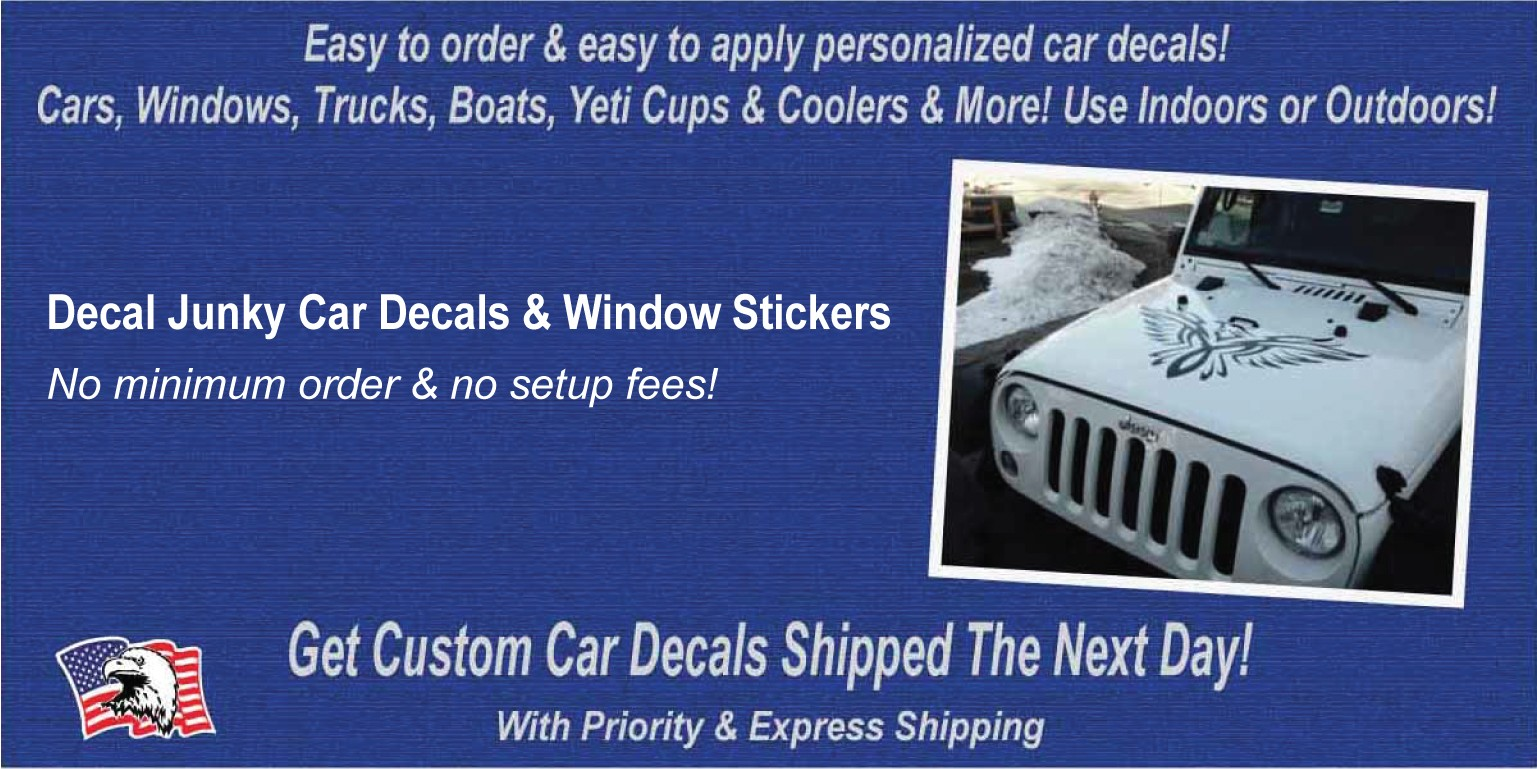 Decal Junky Car Decals Window