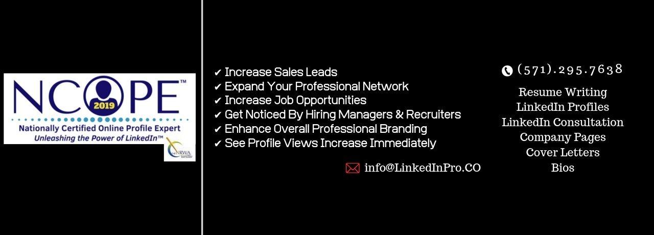 Resume writing services job description