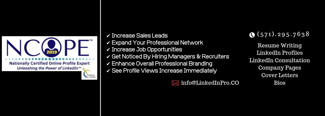Linkedin Profiles And Resume Writing Services Linkedin
