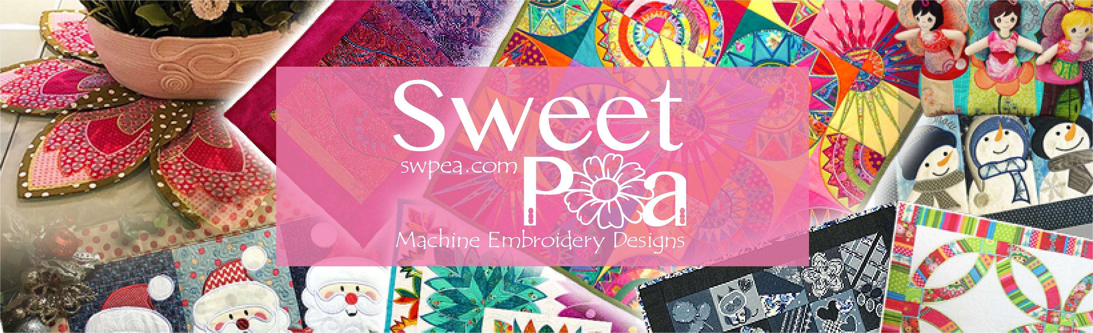 Sweet Pea Machine Embroidery Designs Linkedin