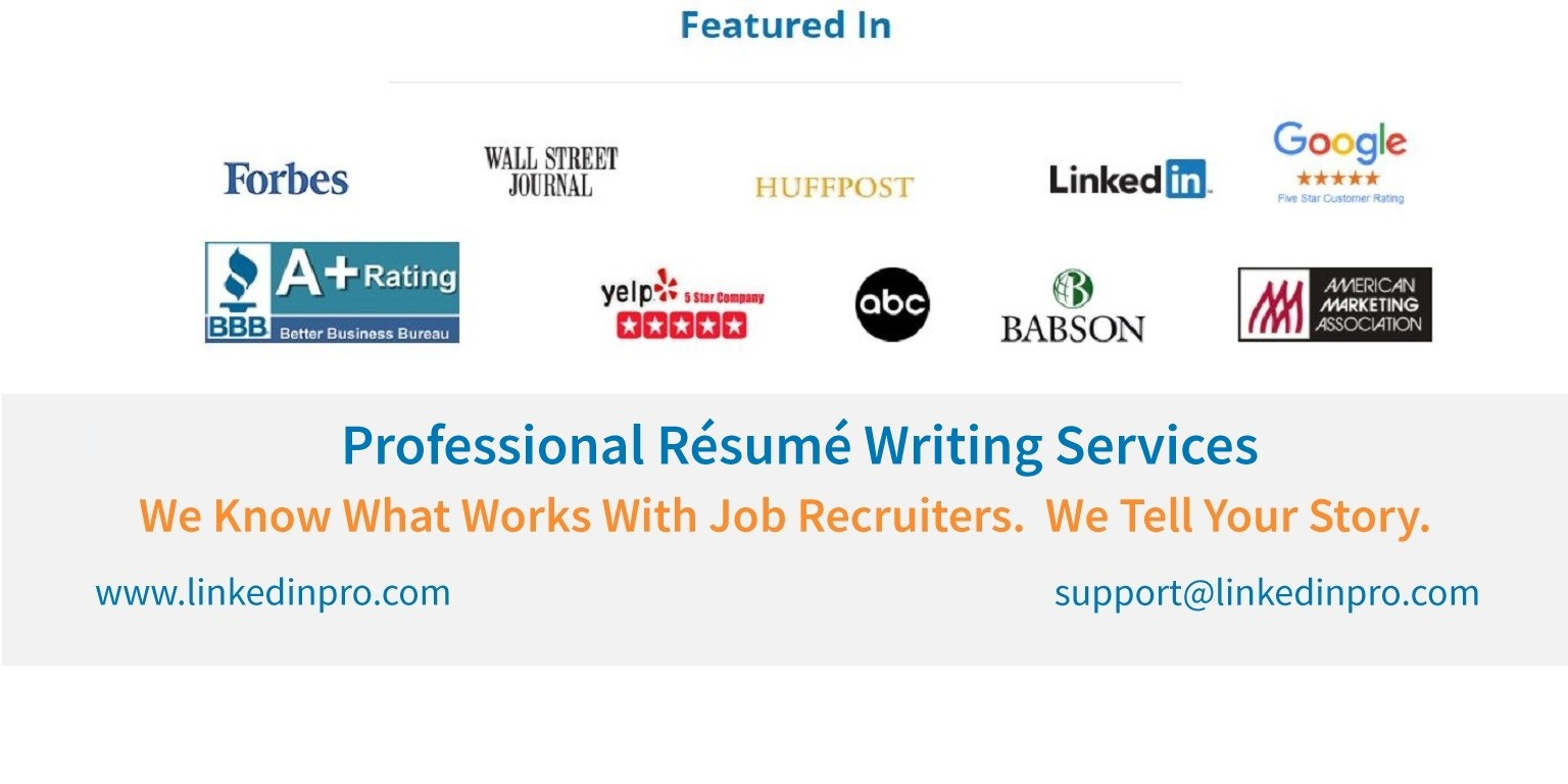 Professional Resume Writing Service, Certified & Top Rated ...