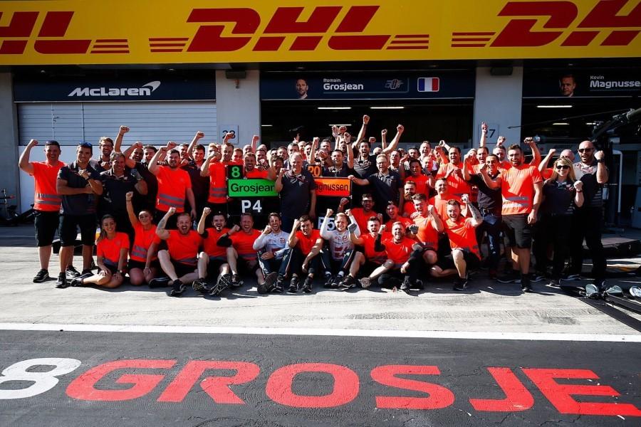 Haas F1 Team Linkedin