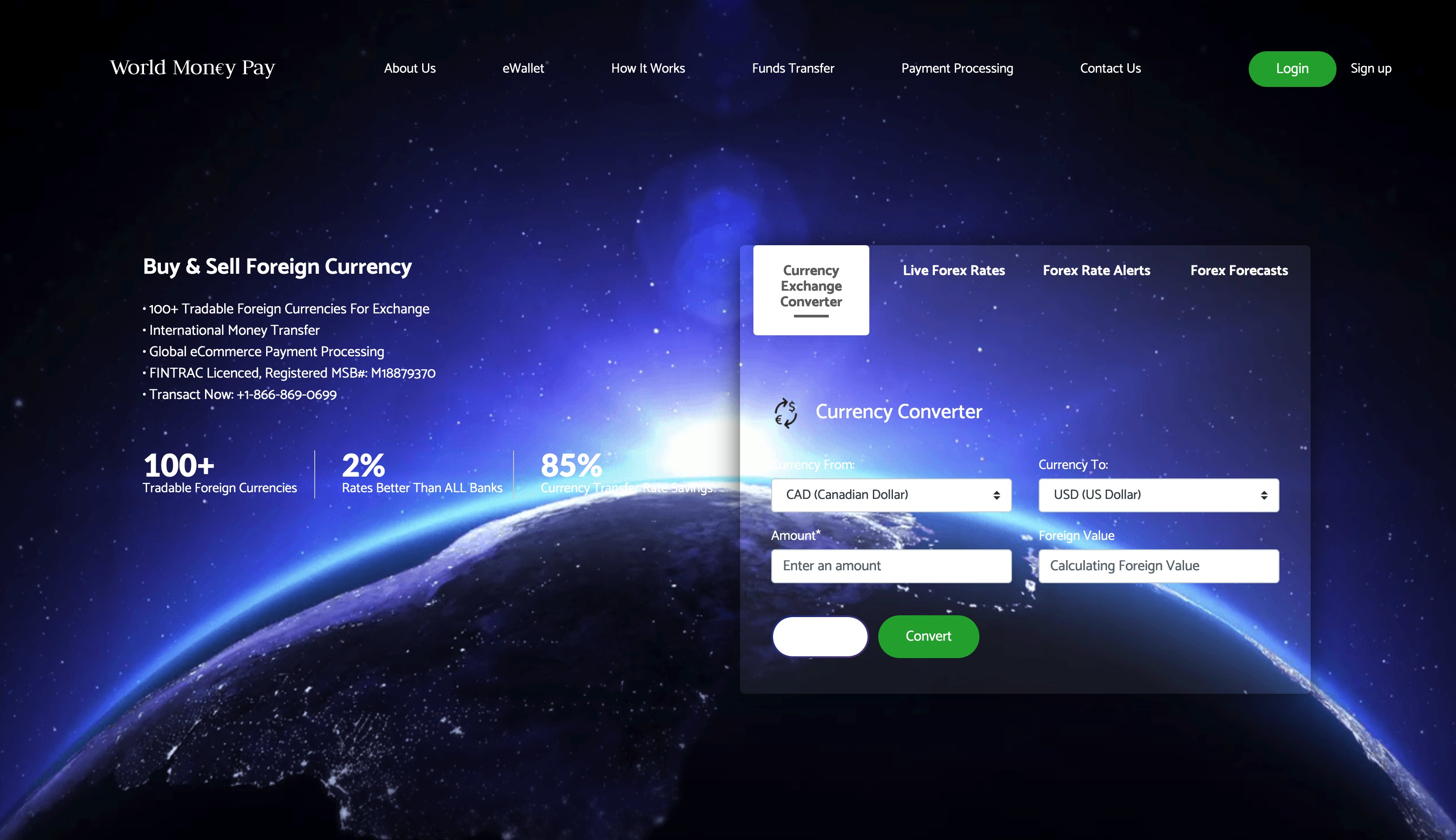 World Money Pay Foreign Exchange