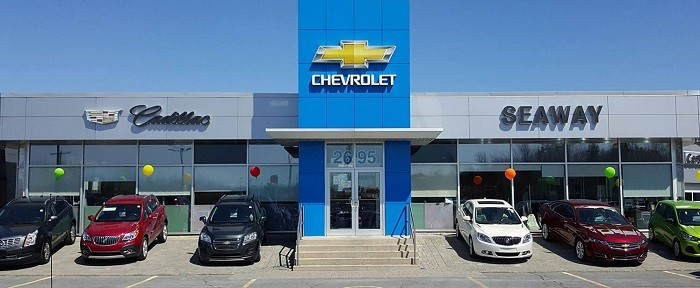 Seaway Chevrolet Cadillac Buick GMC dealership
