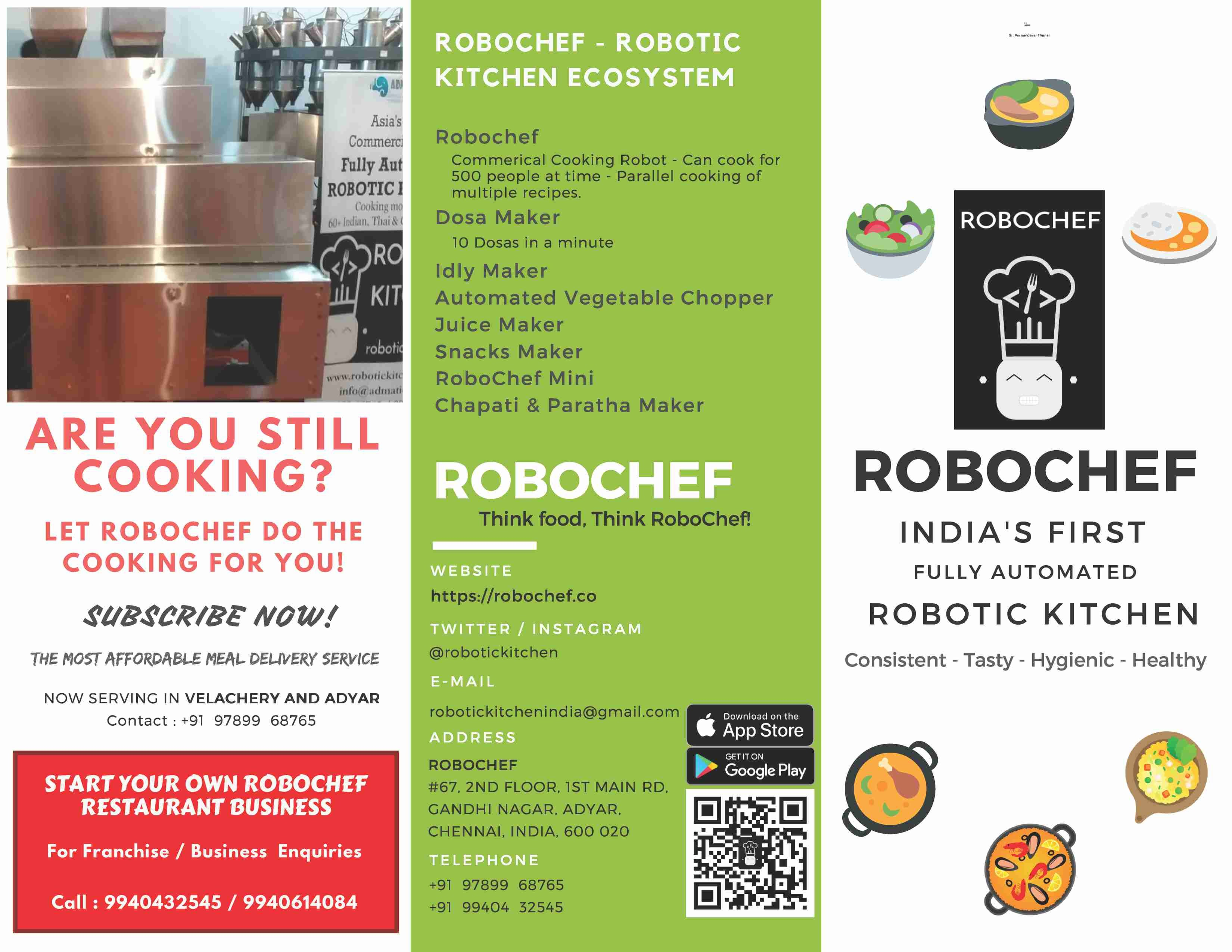 RoboChef - Robotic Kitchen | LinkedIn
