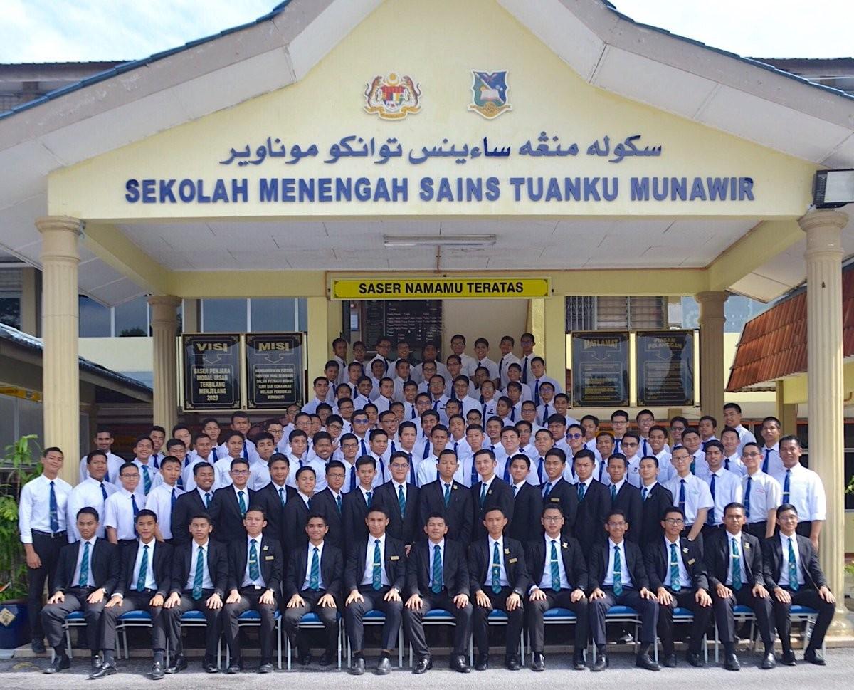 Tuanku Munawir Science School Saser Linkedin