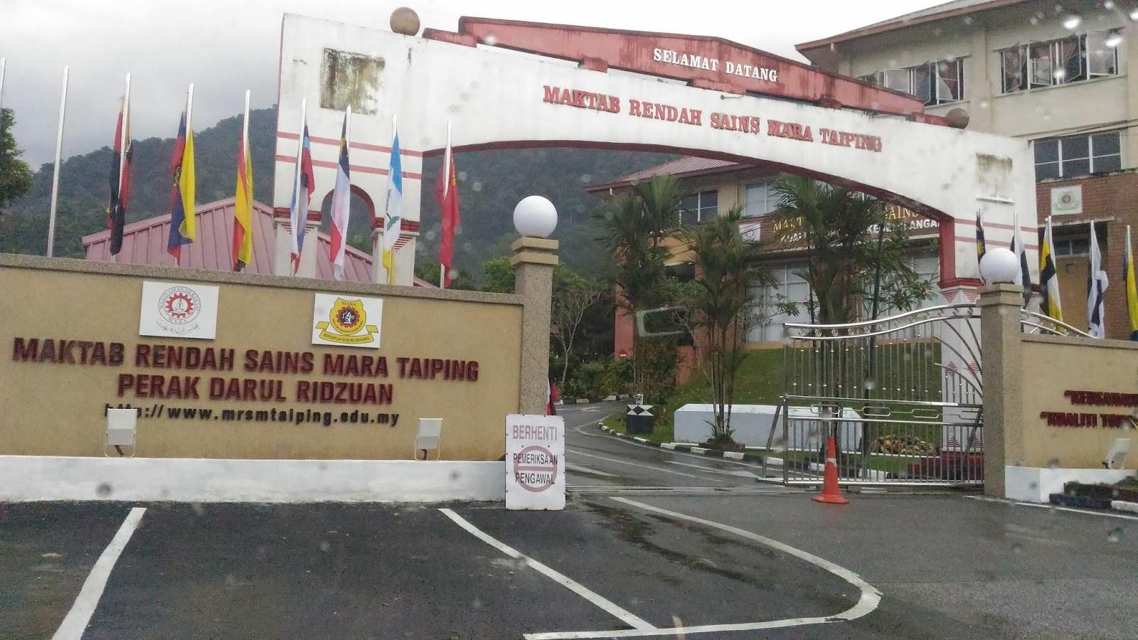Maktab Rendah Sains Mara Mrsm Taiping Linkedin