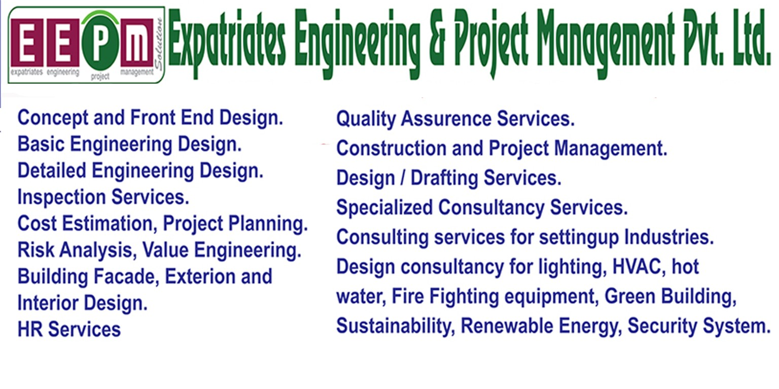 Expatriates Engineering Project Management Co Pvt Ltd Linkedin