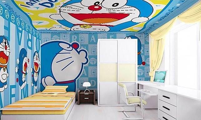 Wallpaper Dinding Doraemon Linkedin