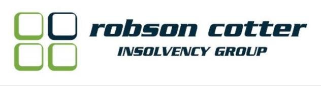 Robson Cotter Insolvency Group Linkedin