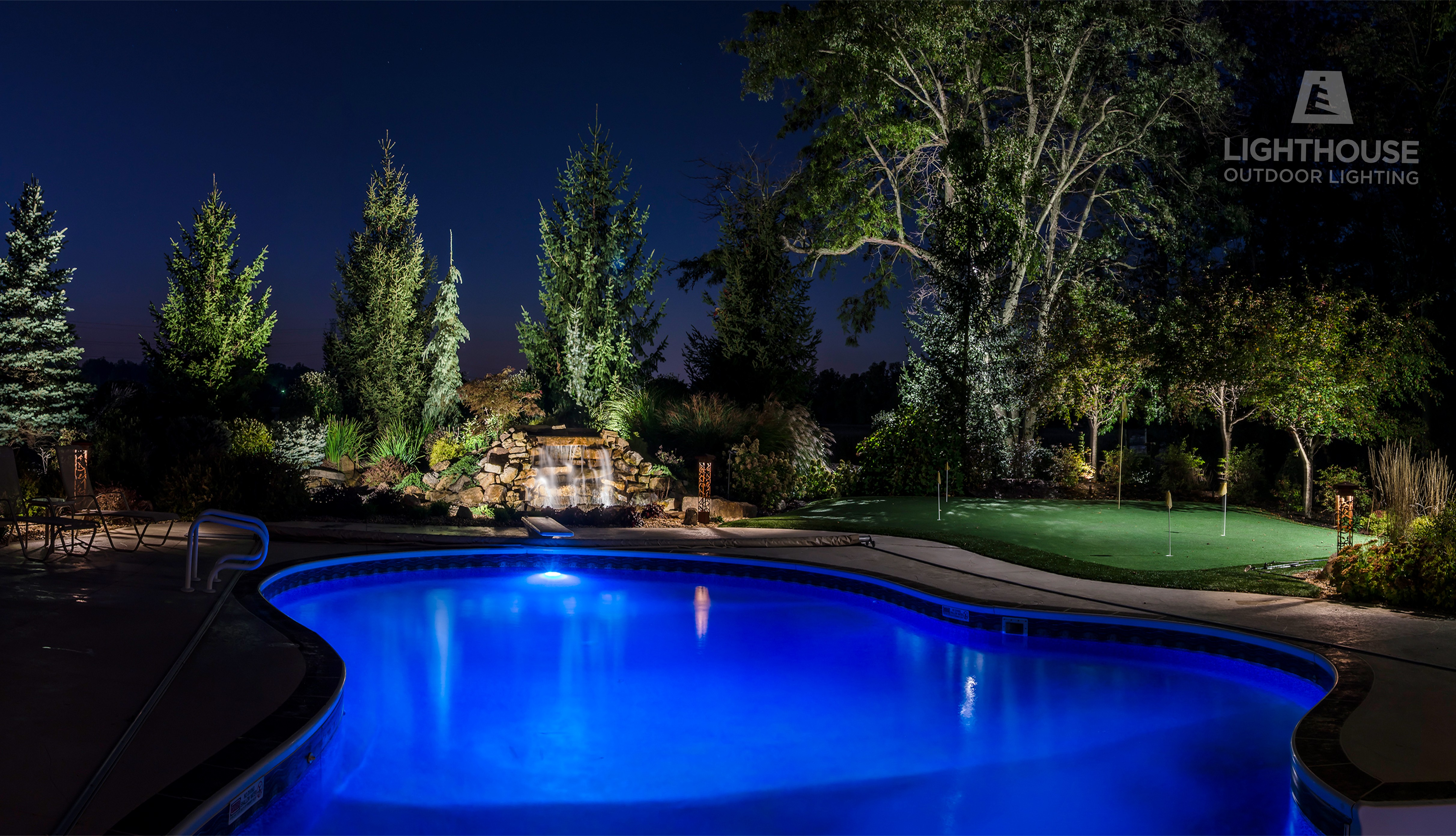 Lighthouse Outdoor Lighting Of