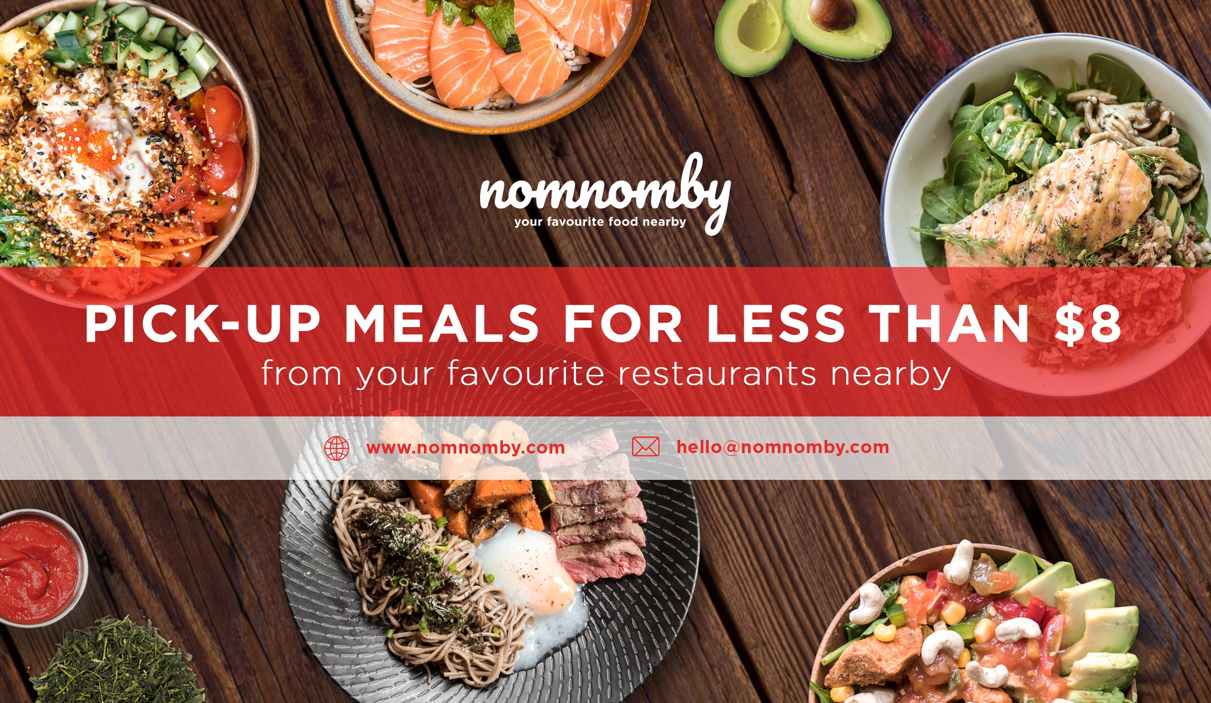 Nomnomby Your Favourite Food Nearby