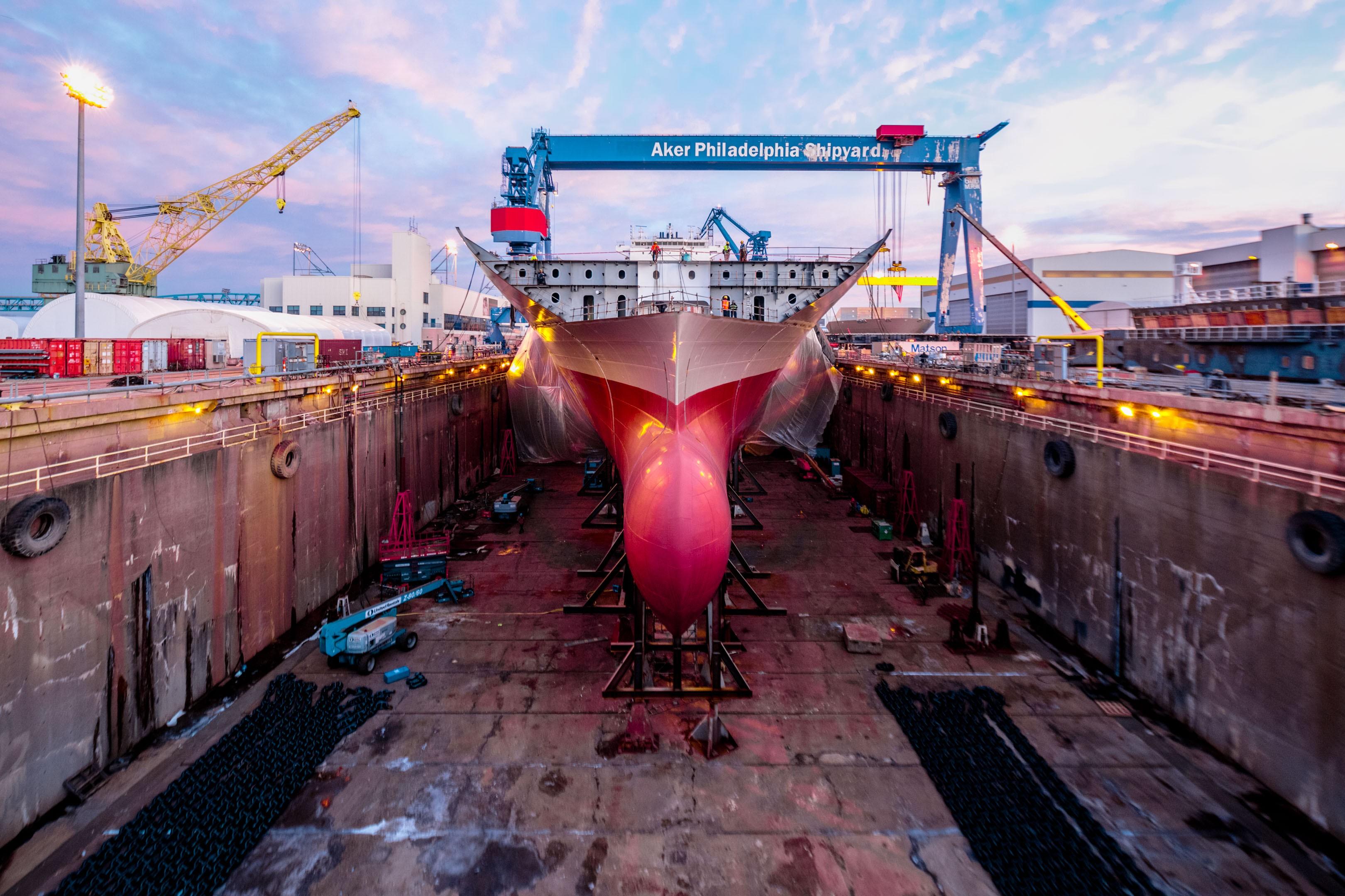 Philly Shipyard, Inc. (trước đây là Aker Philadelphia Shipyard) |  LinkedIn