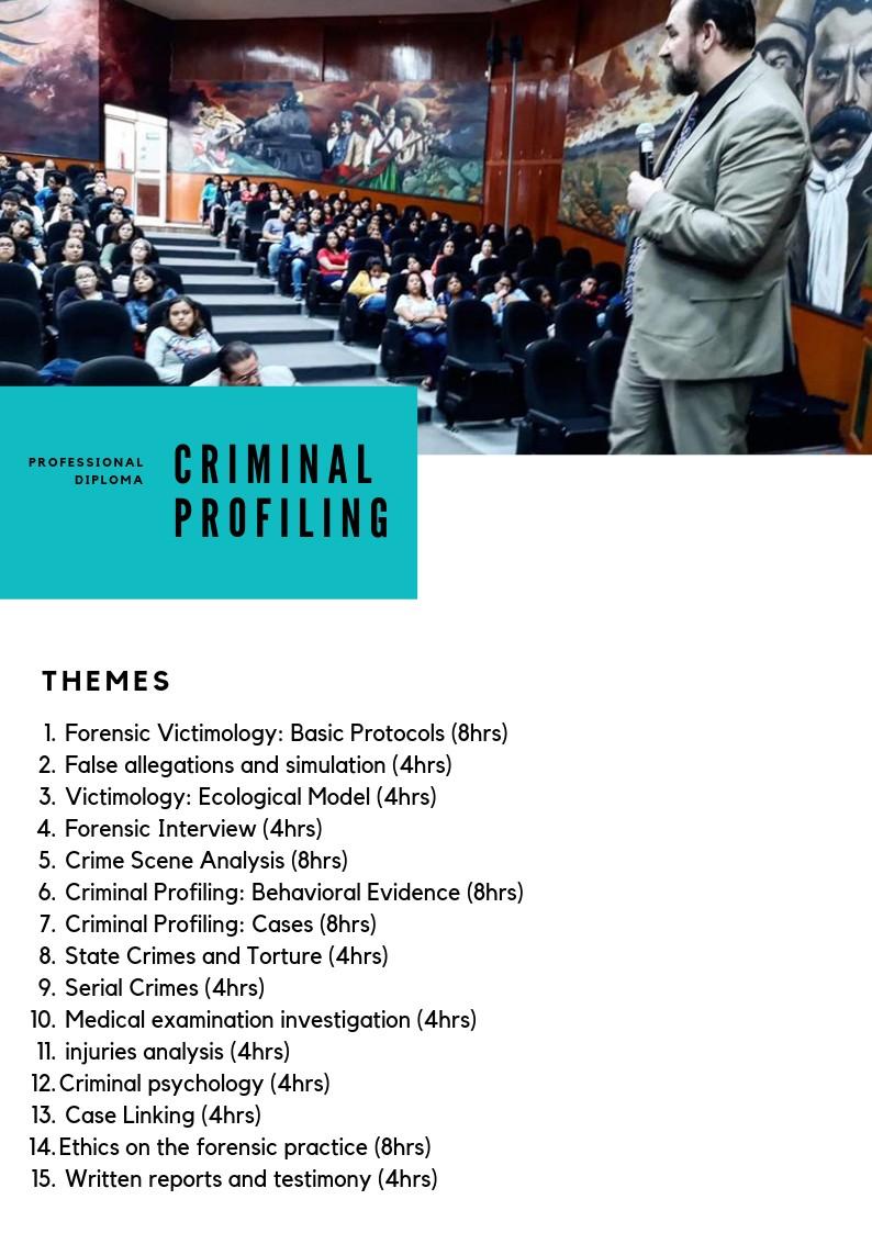 The Forensic Criminology Institute Linkedin