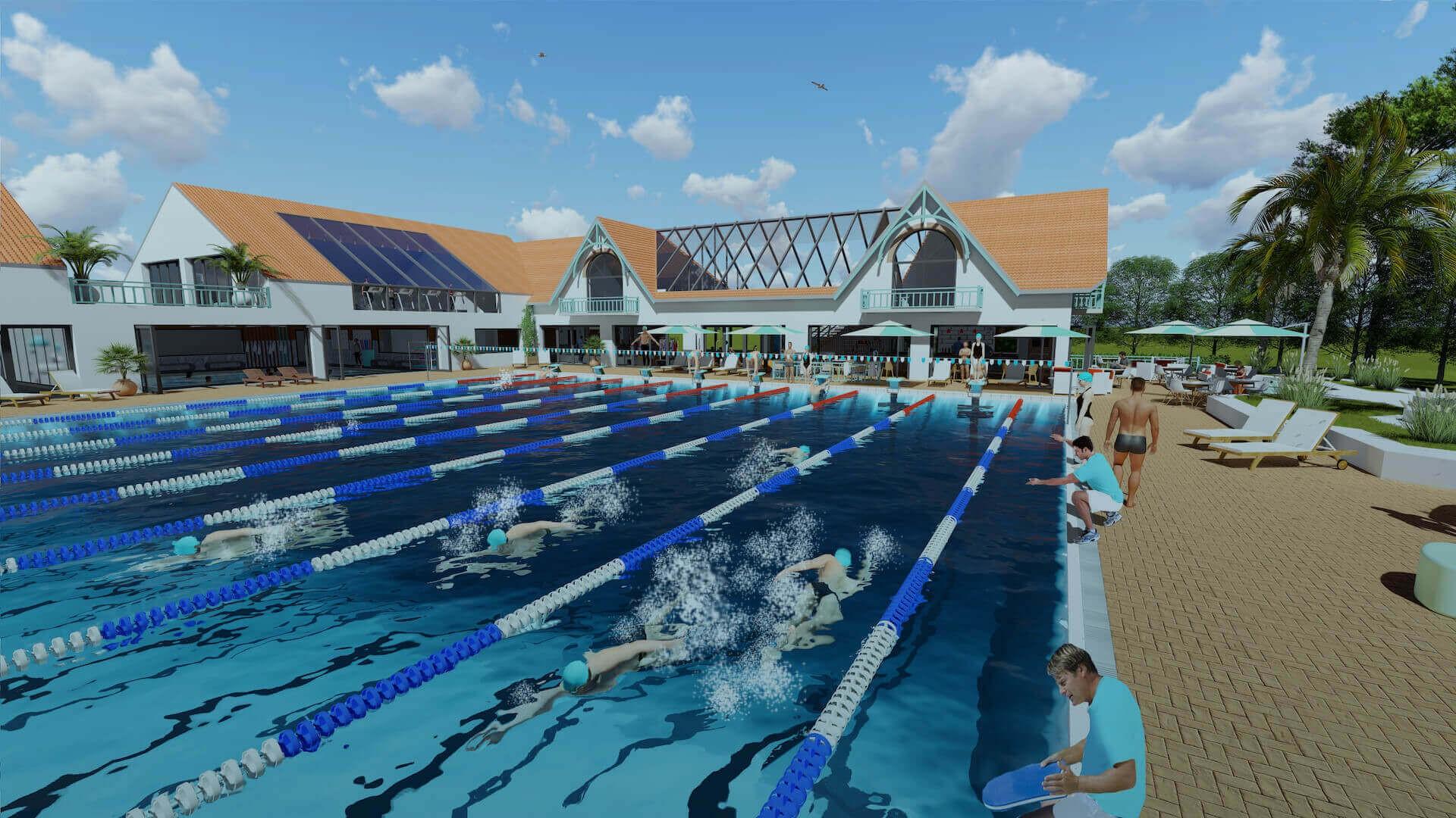 Projet Piscine Saint Andre De Cubzac le swim club | linkedin