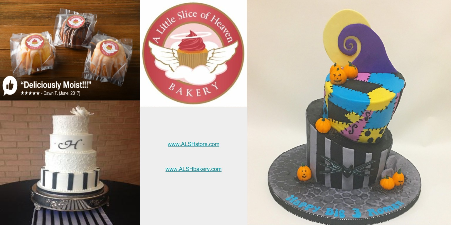 Astounding A Little Slice Of Heaven Bakery Linkedin Personalised Birthday Cards Arneslily Jamesorg