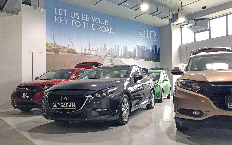 lion city rentals car rental companies singapore