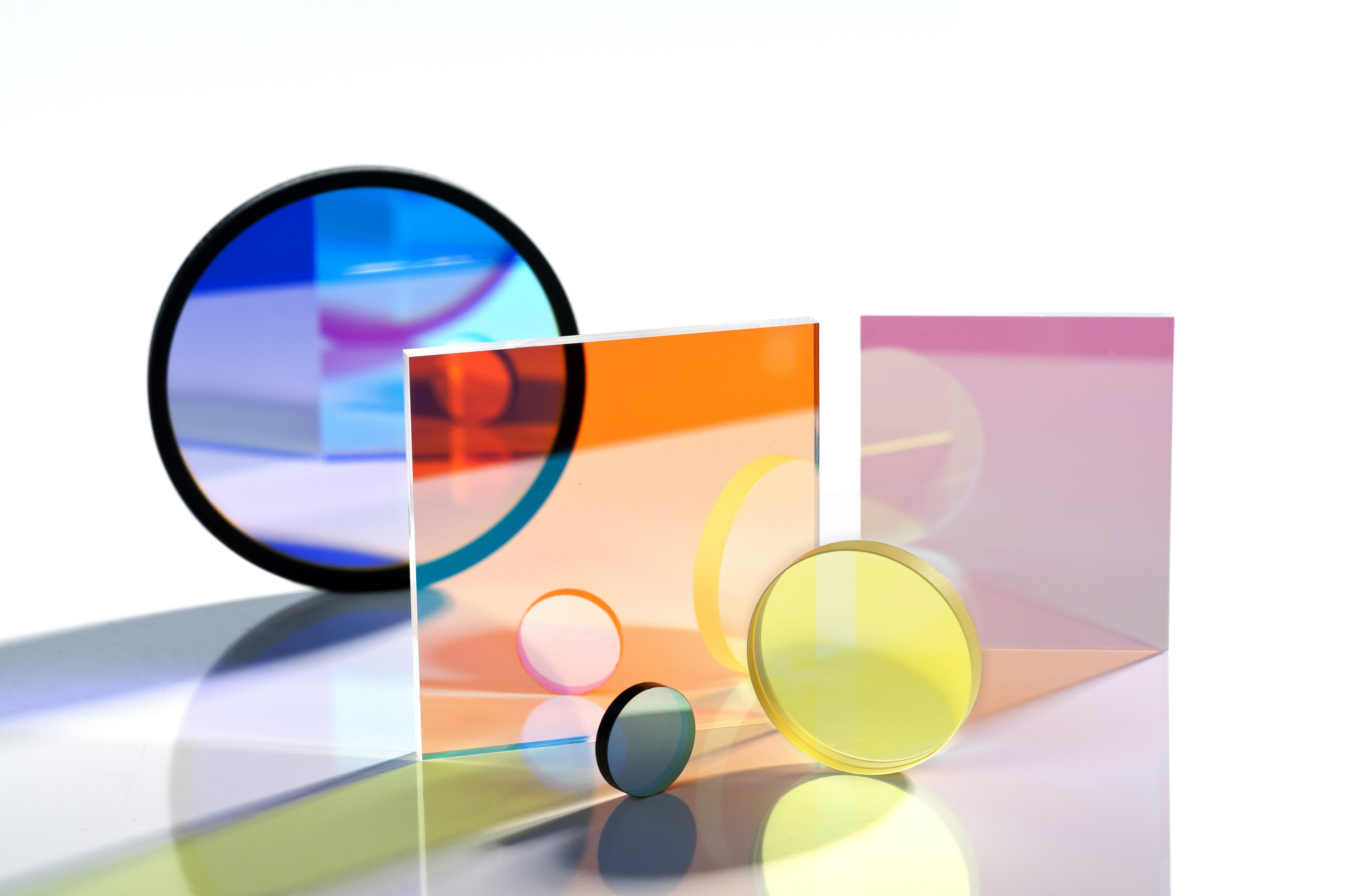 Optical Filter Glass Medical Applications