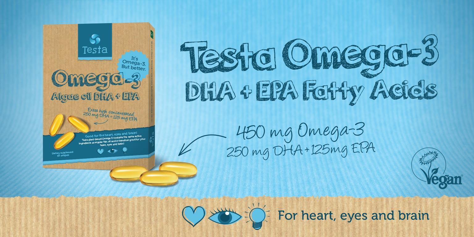 testa omega 3 dha epa