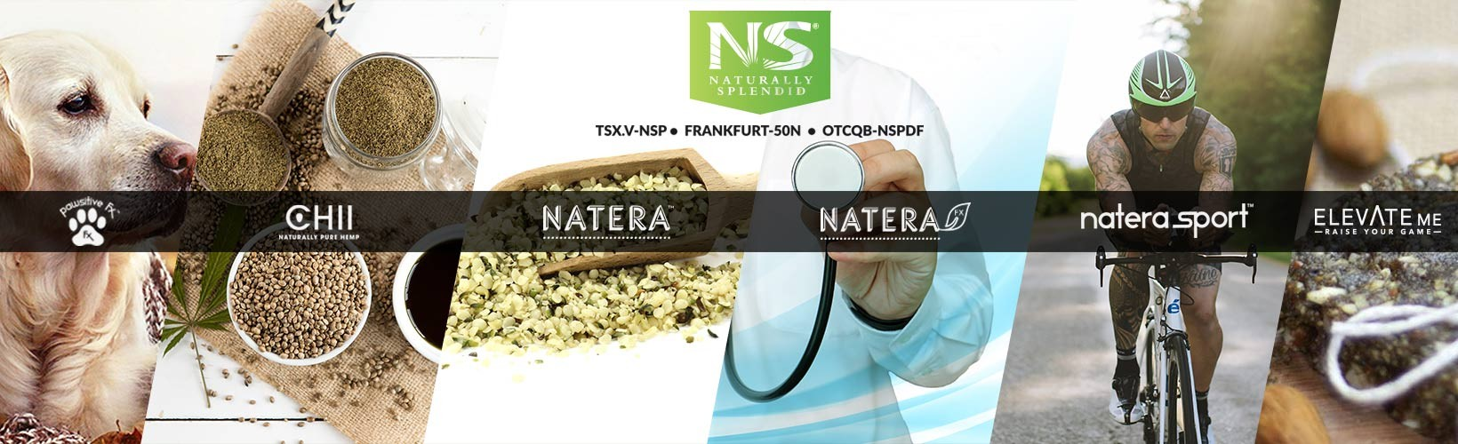 Naturally Splendid Enterprises Ltd. (TSX.V:NSP)(FSE:50N) (OTCQB :NSPDF) |  LinkedIn