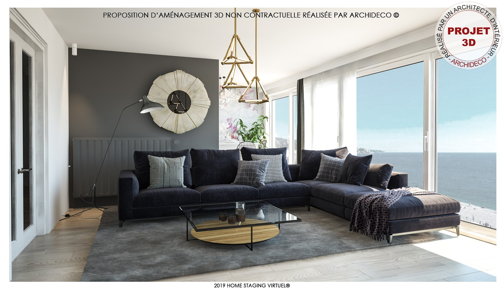 Agence Immobilière Home Staging archideco : home staging virtuel®   linkedin