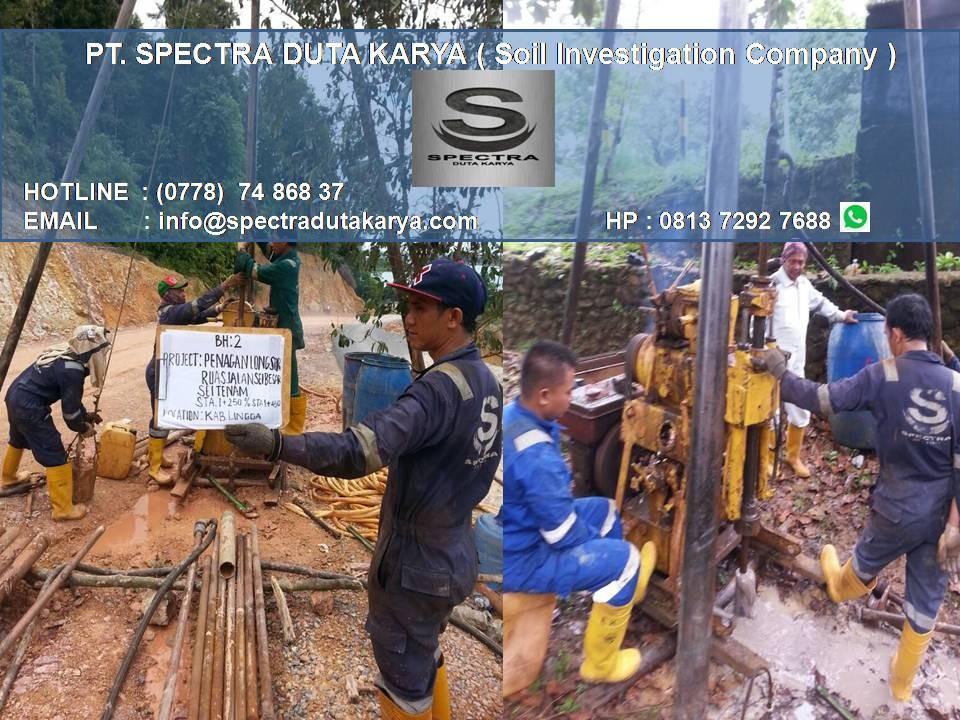 Pt Spectra Duta Karya Soil Investigation Company Linkedin