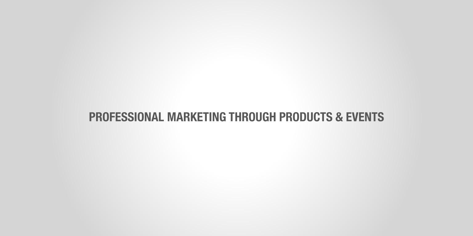 Marknadsföring genom profilkläder Medie Event